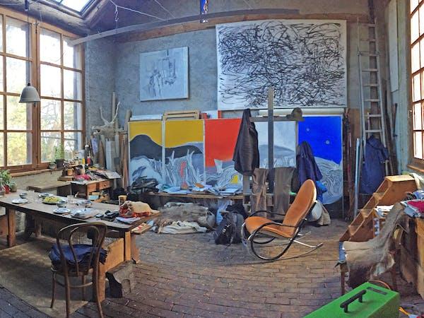 Gianerica – Das Künstlerpaar Erica und Gian Pedretti - Entretien