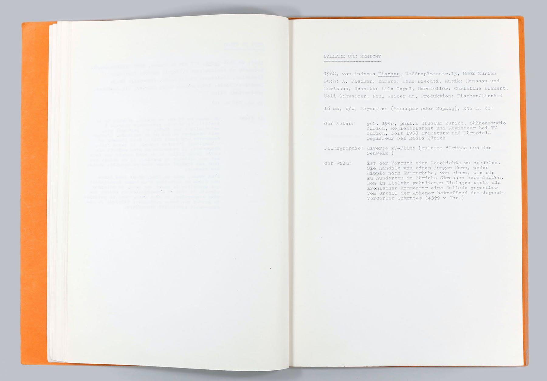 Bild 1 von Ballade und Bericht