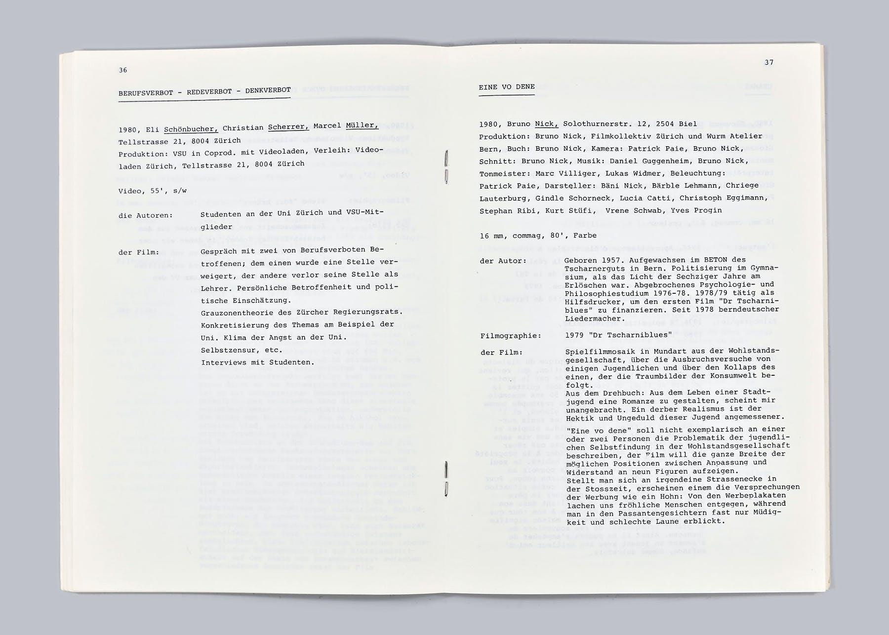 Bild 1 von Berufsverbot – Redeverbot – Denkverbot