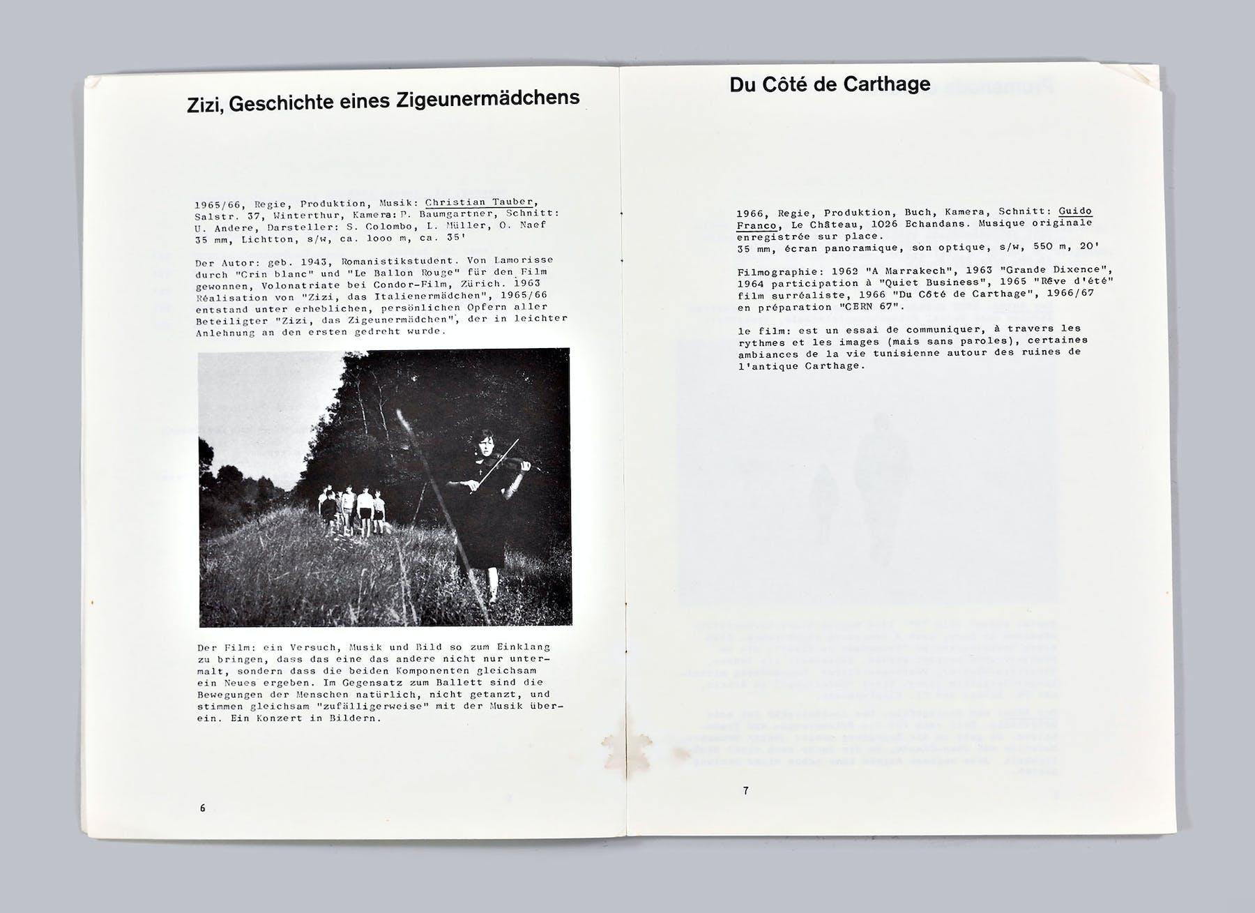 Image 1 de Zizi, Geschichte eines Zigeunermädchens