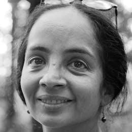 Portrait von  Farida Pacha