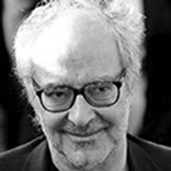 Portrait von  Jean-Luc Godard